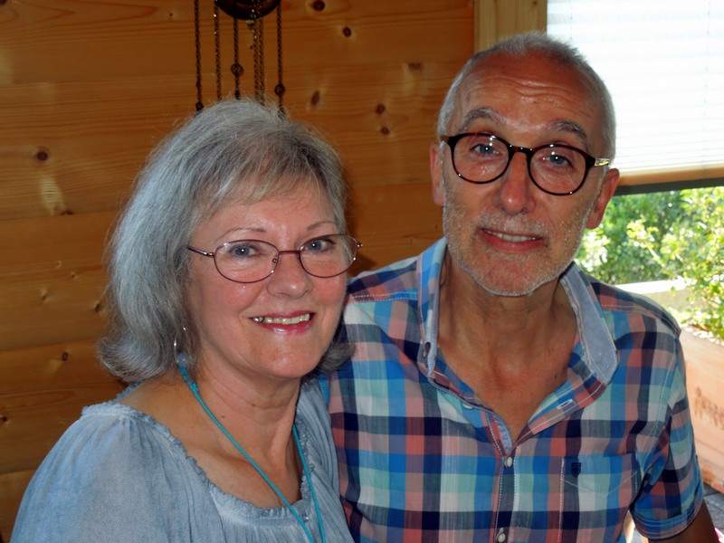 Sandy und Wolfgang Kremer von Kinderarmut in Deutschland e.V.