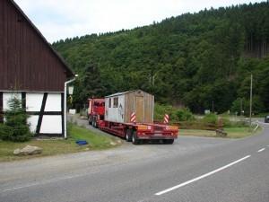 Kinderarmut in Deutschland e.V. - Umzug vom Kochwagen