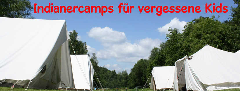 IndianerCamps für Kinder in Not